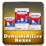 Dry-Packs Silica Gel Desiccant Dehumidifier Boxes