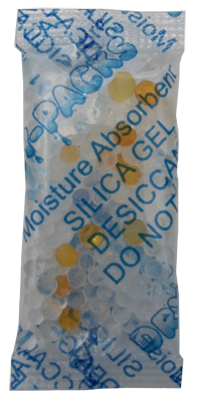 3 Gram Moisture Indicating Silica Gel Packet