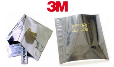 "4x24"" 3M Dri-Shield Open Top Moisture Barrier Bags"
