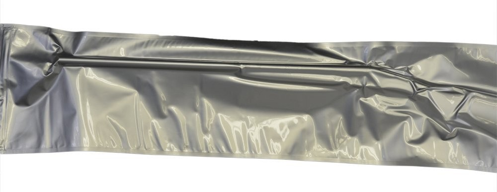 "12x38"" Aluminized Moisture Barrier & Static Shielding Zipper Bags"