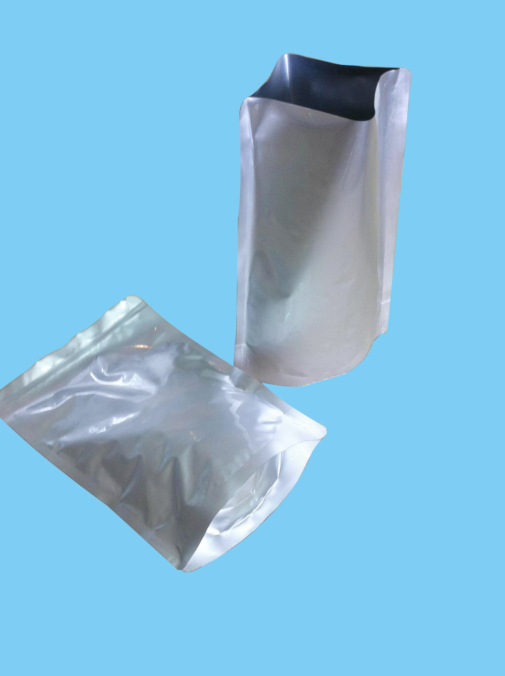 Stand Up Aluminum Moisture Barrier Bag