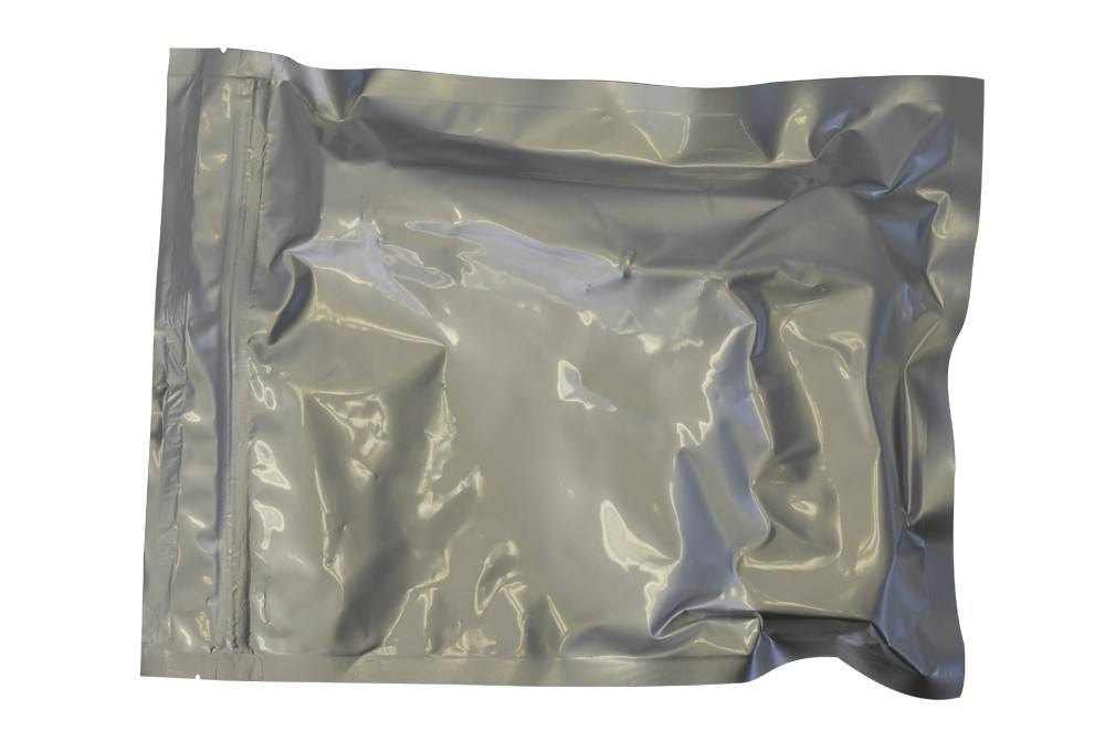 "9x12"" Aluminized Moisture Barrier & Static Shielding Zipper Bag"