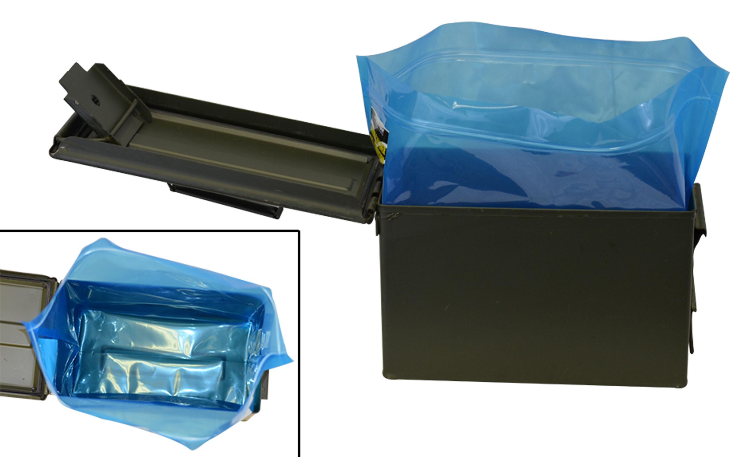 50 Cal Ammo Can Liner Zipper Bag