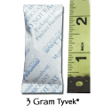 3 Gram Silica Gel Packet - Tyvek®