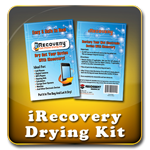 iRecovery Cell Phone Drying Kits for iPhones, iPod, MP3, Hearing Aids, Cell Phones, etc.